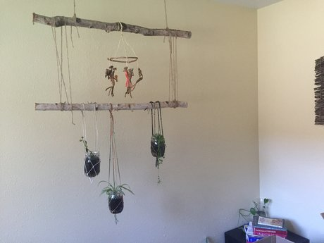 Hanging planter holders