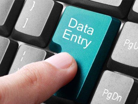Data Entry - Transcriber