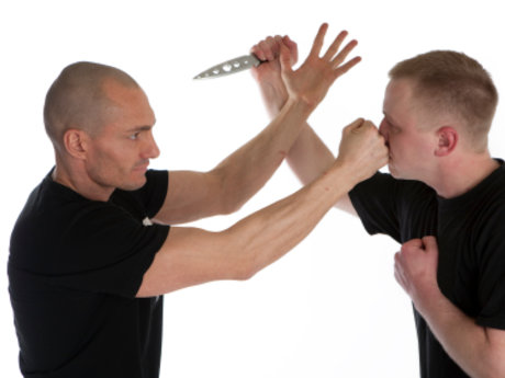 An hour of self defence training.