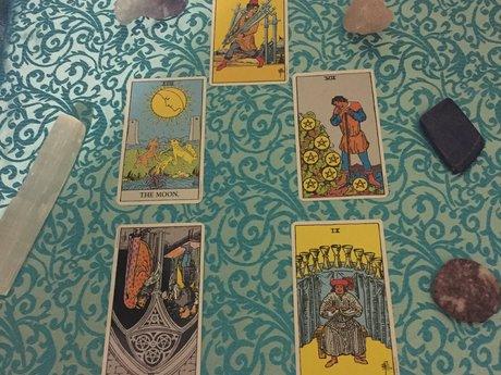 Tarot 5 card spread