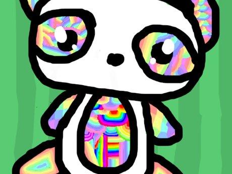 Zen Doodle Panda