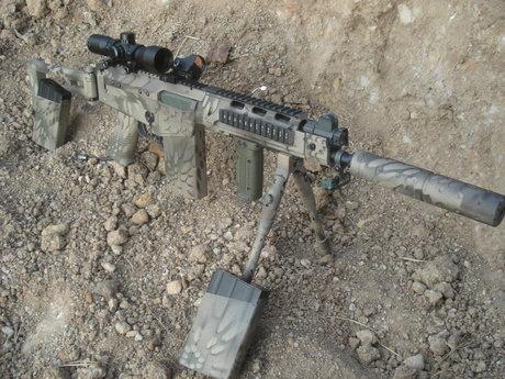 Custom Airsoft Gun Paintjob
