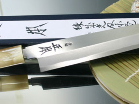 Japanese knife sharpening