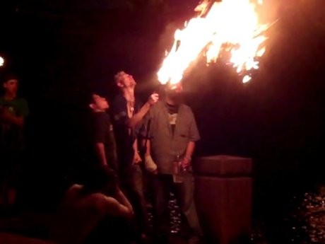 Fire breathing lessons