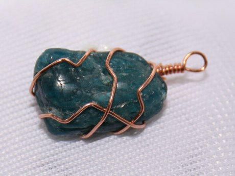 1 hour wire wrapped stone lesson