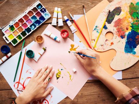 Make a watercolor cartoon of you