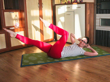 Written Pilates sequence