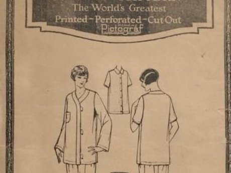 Antique sewing pattern source