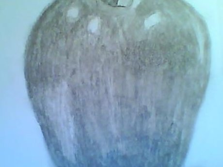 Draw a realistic apple in 5 minutes