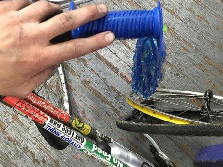Bike Repair Lesson