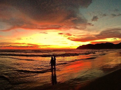 Typical Sunset in Mexico!