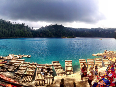 Small Lake in Chiapas, MX