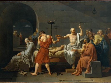 The Death of Socrates Digital