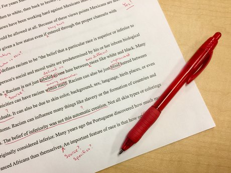 Editing - copyediting - spell check