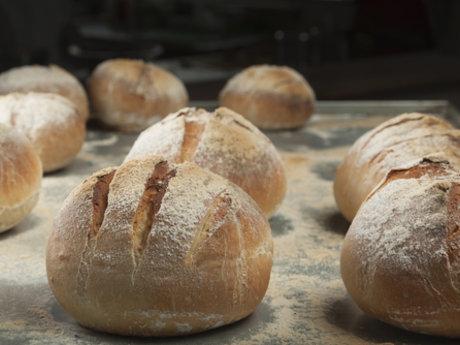 Fresh baked artisan bread, Lessons