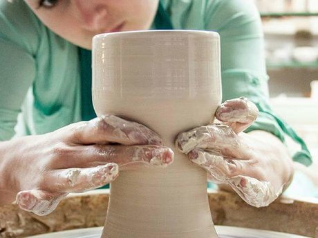 Pottery lesson