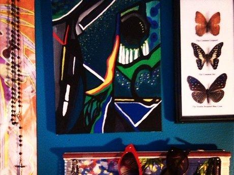 Custom Abstract Art Piece: LAMart