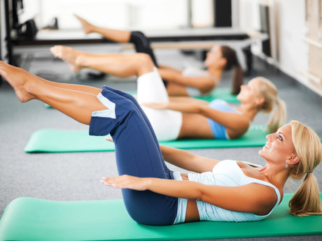 45 minute Pilates workout