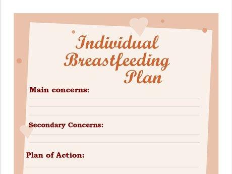 Individual Breastfeeding Plan