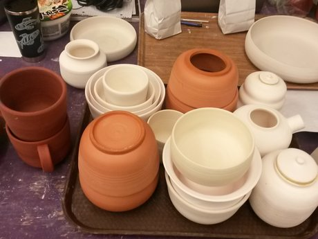 Custom handmade pottery/ceramics.