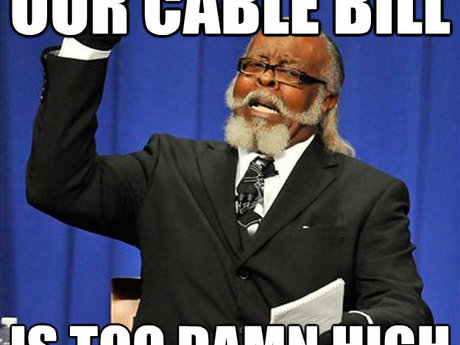 Lower your cable/internet bill