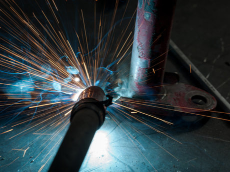 Welding mechanical work