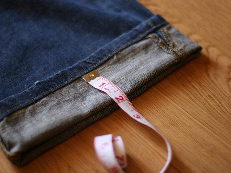 Hem your jeans or pants