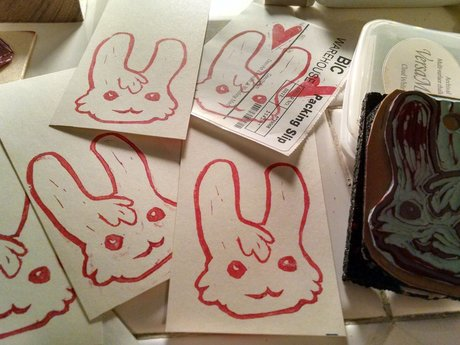 Mail you a bunny sticker