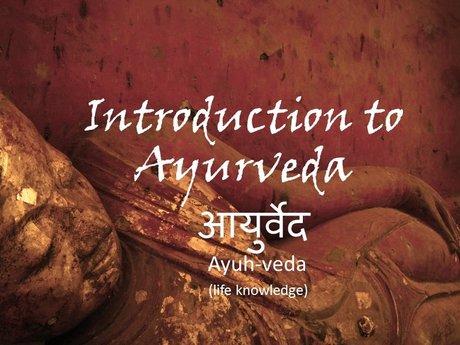 eCourse: Introduction to Ayurveda