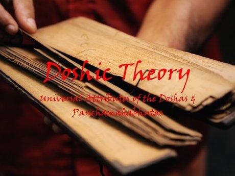 eCourse: Doshic Theory