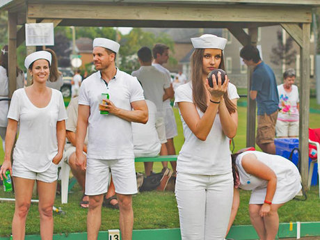 Lawn Bowling Lessons & a Game