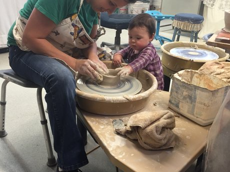 One on One pottery lessons