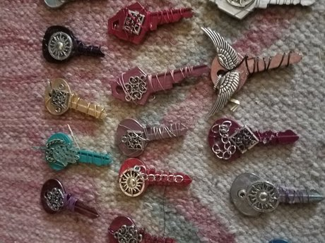 Custom key charm