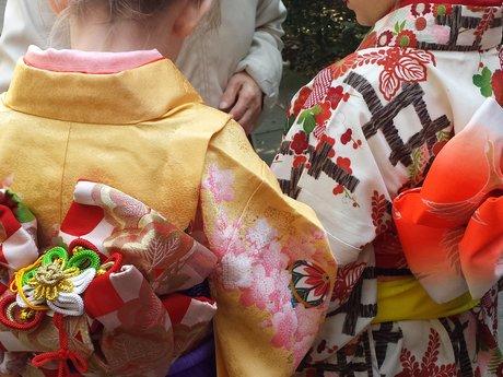 Let's wear Japanese kimono!