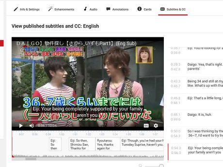 Jap to Eng Subtitler/Translation