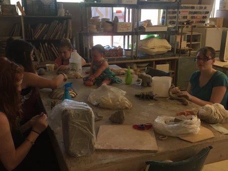 Birthday Pottery Party