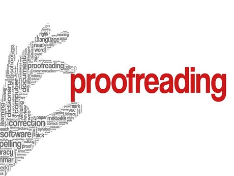 Proofreading, professional writing