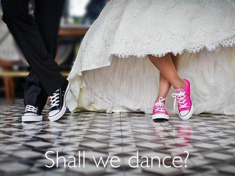 Shall We Dance Magnet Postcard