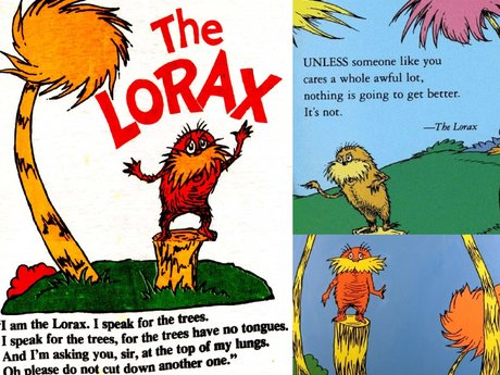 Advice from the Lorax