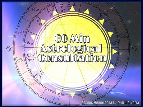 60 Min Astrological Consultation