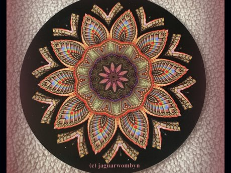 Mandala Affirmation Card~ mailed