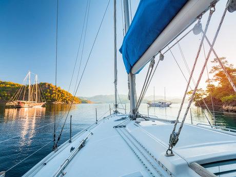 Sailboat adventure in victoria