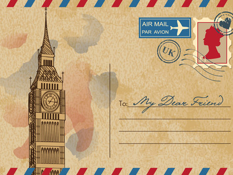 Mail you a letter/postcard