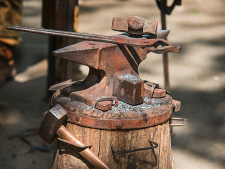 Blacksmith handywork cook