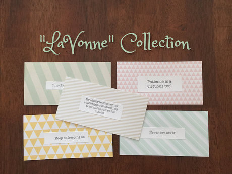 LaVonne Affirmation Card Collection