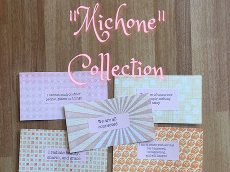 """Michone"" Affirmation Cards"
