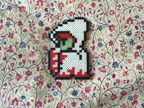 Final Fantasy White Mage Fuse Bead