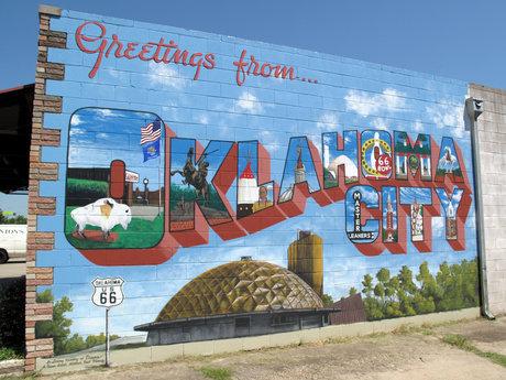 Send 1 postcard from Oklahoma City