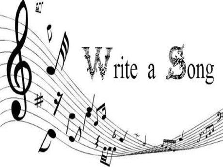 Song lyrics writing