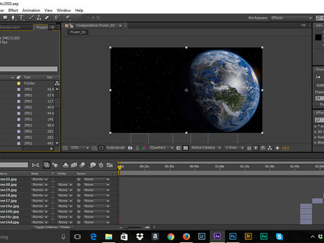Affter Effects Post Production